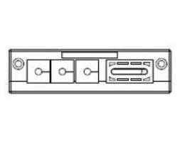 KEL-FL/J Flat Cable Entry Frame 10 pk (46145)