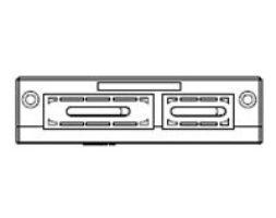 KEL-FL/K Flat Cable Entry Frame 10 pk (46150)