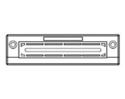 KEL-FL/L Flat Cable Entry Frame 10 pk (46155)